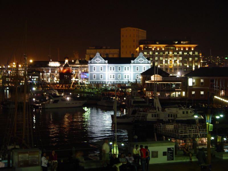 Waterfront at night