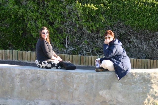 Melinda and Lynn