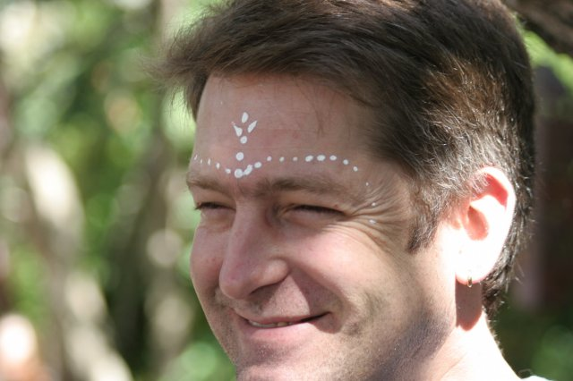 Rob at Moyo - Stellenbosch