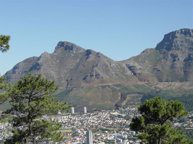 Devils Peak from Signal Hill