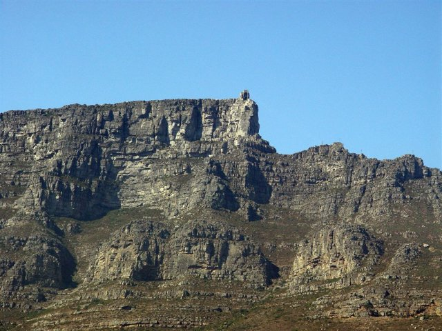 Table Mountain from Kloof Str