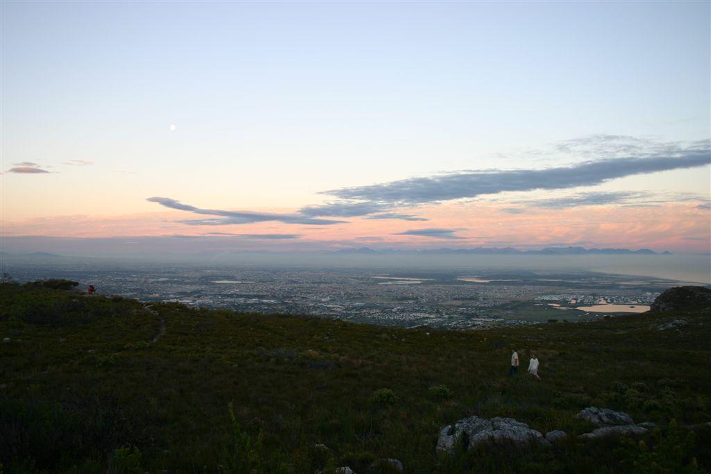 Sun set from Oukaapseweg