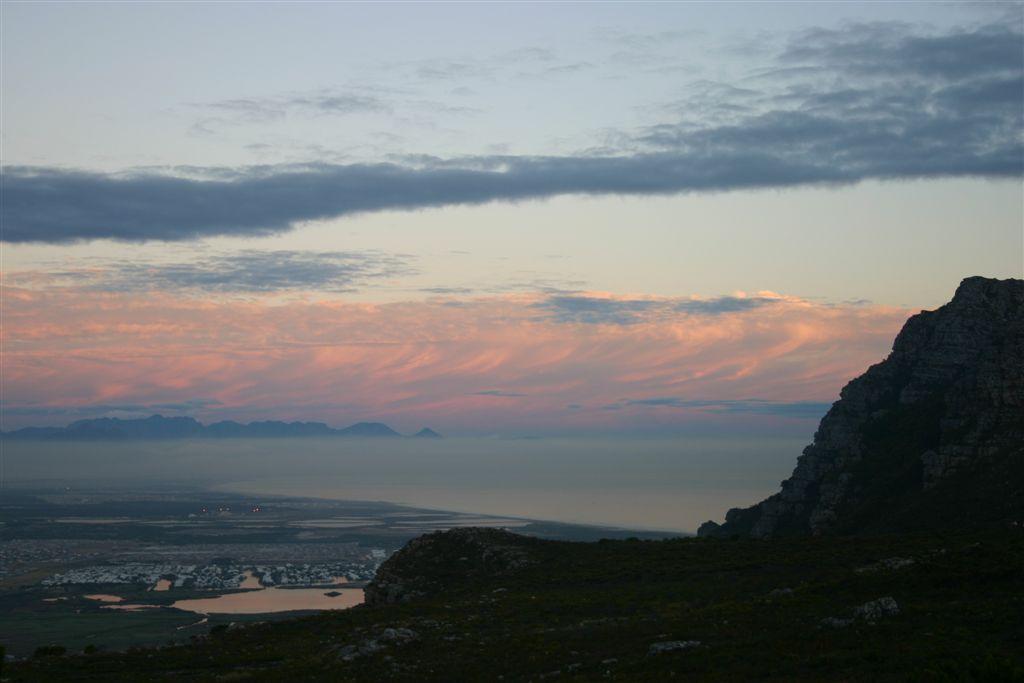 View from Ou Kaapse Weg to Muizemberg